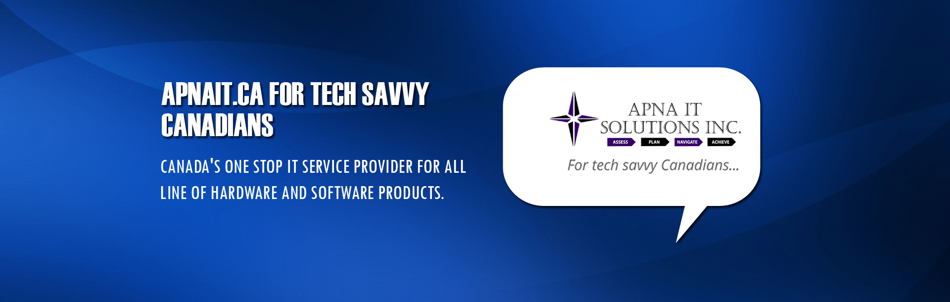 APNAIT.CA For Tech Saavy Canadians